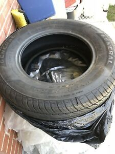 Four general summer tire size 215 65 R15
