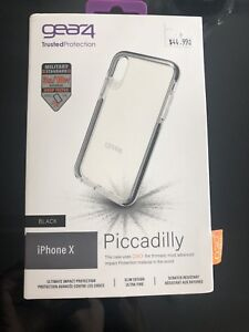 iPhone X Gear4 D3O White Piccadilly case
