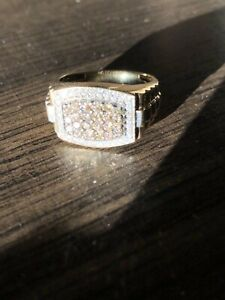 Mens gold/diamond fashion ring for sale!