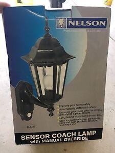 Sensor coach lamp - Black East Fremantle Fremantle Area Preview