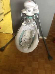 Fisher Price Lamb Swing and Chair