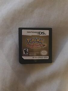 Pokemon heart gold version. Nintendo ds