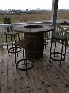 Bar set/ beer table for your man cave