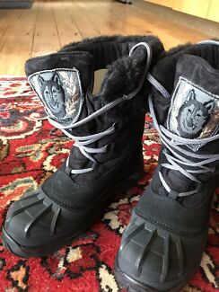 Snow boots ski boots waterproof boots