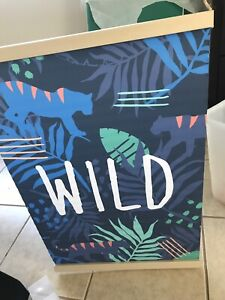 Jungle theme, hanging wall picture Oak Flats Shellharbour Area Preview
