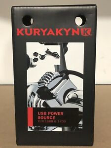 Kuryakyn Motorcycle USB Power Source