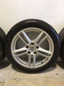 "Porsche Panamera 19"" Rims + Michelin Pilot Sport Tires"