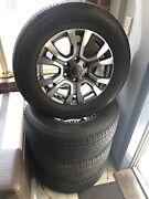 18 inch Ford ranger wheels Wild Track 265/60R18 4WD Tugun Gold Coast South Preview