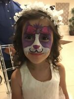 FACEPAINTING FOR BIRTHDAY PARTIES / EVENTS