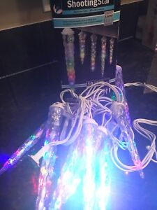 Shooting Star LED Christmas lights