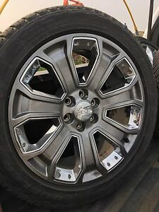 New take off tires from 2016 gmc
