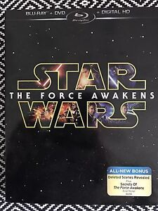 Star Wars the Force Awakens Blu Ray and DVD
