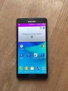 Samsung galaxy note 4 black 32gb unlocked for sale