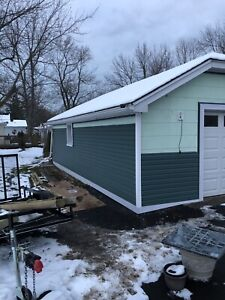 Siding, soffit, fascia, eavestrough and more.