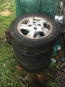 "4x Honda 4 bolt 16"" rims"