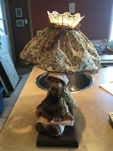 Antique Doll Lamp