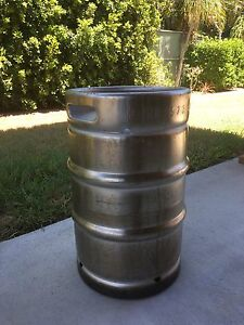 50lt Beer Keg Stainless Steel Capalaba Brisbane South East Preview