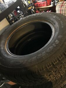 Set of Goodyear winter tires