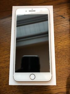 UNLOCKED Gold iPhone 7Plus 128GB With Box