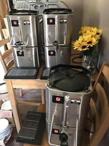 3 coffee warmers - Stainless