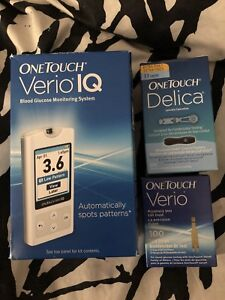 Blood Glucose Meter by One Touch Vario IQ
