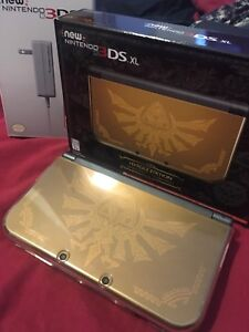 New 3DS XL hyrule edition + Lots of accesories