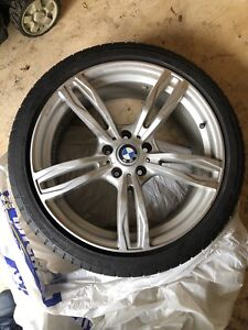 Mags and tires for BMW All Xdrive 245-40-19