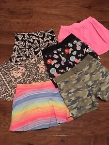 Girls size 10-12 children's place skirts and shorts