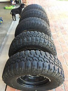 78 series wheel and tyres mud terrain Bolwarra Heights Maitland Area Preview