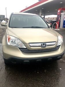 2007 HONDA CRV AWD EXL LEATHER EXCELLENT CONDITION FOR SALE