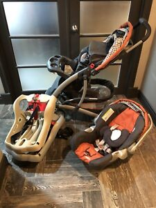 Car Seat, 2 Bases & Stoller