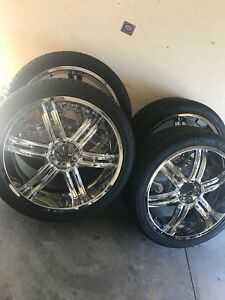 "24"" rims for sale!!"