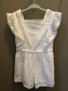 Lace Romper, Toddler, size 2-3 years