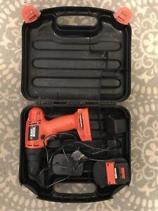 12 Volt Black & Decker Cordless Drill/Driver