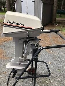 Johnson 8hp outboard motor