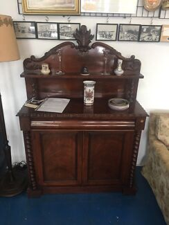 Mid Victorian chiffioniere sideboard valued at $3500 genuine antique
