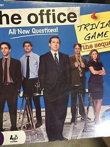 The Office Trivia Game the sequel brand new in sealed package