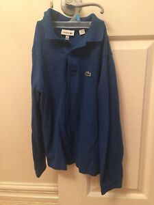 Lacoste top for boys size 8