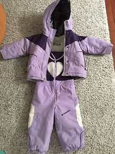 Girl toddler snowsuit