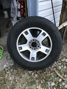 Ford F-150 Rims with winter tires
