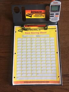 Longacre Robic Race Stopwatch and Clipboard