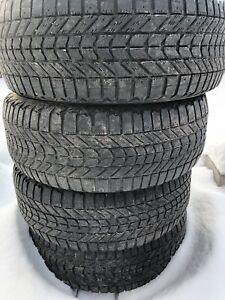 Firestone winterforce hiver 235/55/17