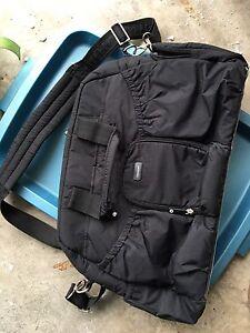 Black diaper bag