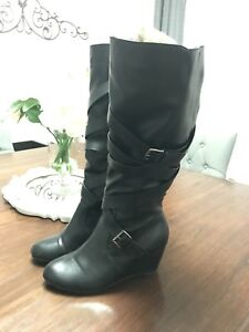 Additionelle Wedge Fashion Boot