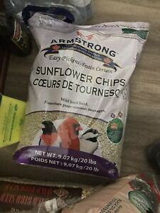 Armstrong brand new bird seed sunflower chips obo retail $42.99