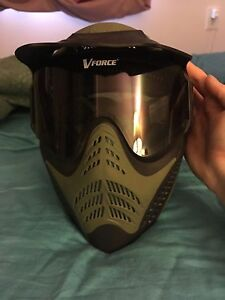 Great VForce paintball mask