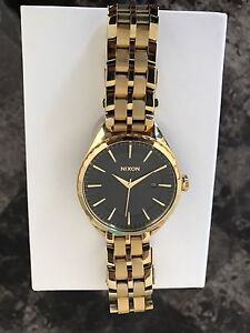Nixon watch (Gold plated stainless steel)