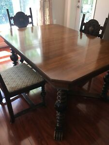1920-30's 3 piece dining room set