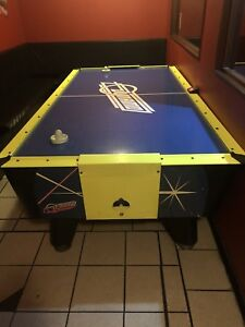 Air hockey, foosball, and boxer machine for sale