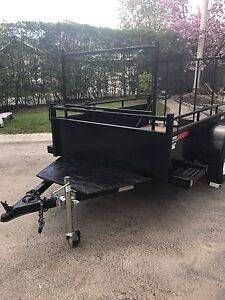 Kangaroo 5x8 Utility trailer with tool rack! GREAT CONDITION